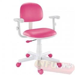 Cadeira giratória pink kids deccor digitador
