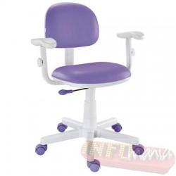 Cadeira giratória lilás kids deccor digitador