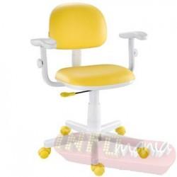 Cadeira giratória amarela kids deccor digitador