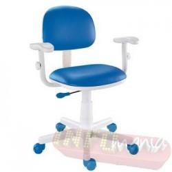 Cadeira giratória azul kids deccor digitador