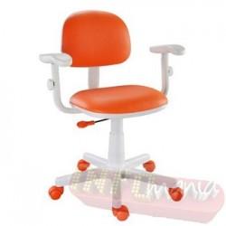 Cadeira giratória laranja kids deccor digitador