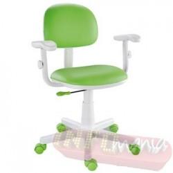 Cadeira giratória verde limão kids deccor digitador