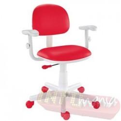 Cadeira giratória vermelho kids deccor digitador