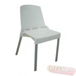 Cadeira Shine Frisokar branca sem braço
