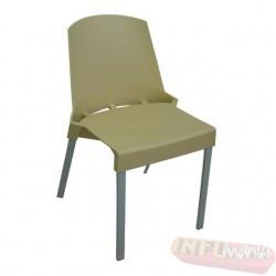 Cadeira Shine Frisokar areia sem braço