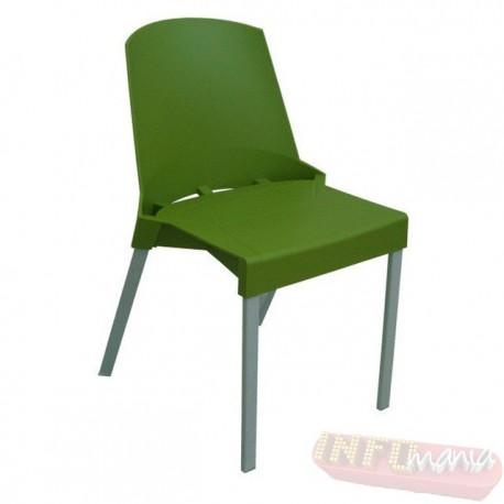 Cadeira Shine Frisokar verde sem braço