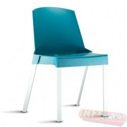 Cadeira Shine Frisokar azul Max sem braço