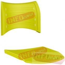 Conjunto assento e encosto iso polipropileno amarelo limão