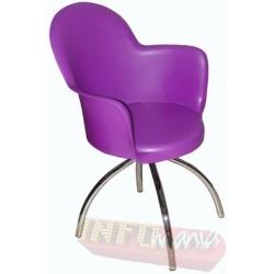 Cadeira Gogo raio conha púrpura